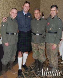 Richard Lott, primero a la izquierda.