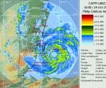 Imagen del Radar de Belice