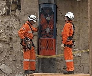 Simulador para rescate de mineros