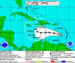 Mapa de Trayectoria, Huracán Tomas (NOAA)