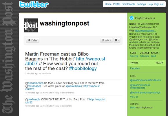 Twitter Washington Post