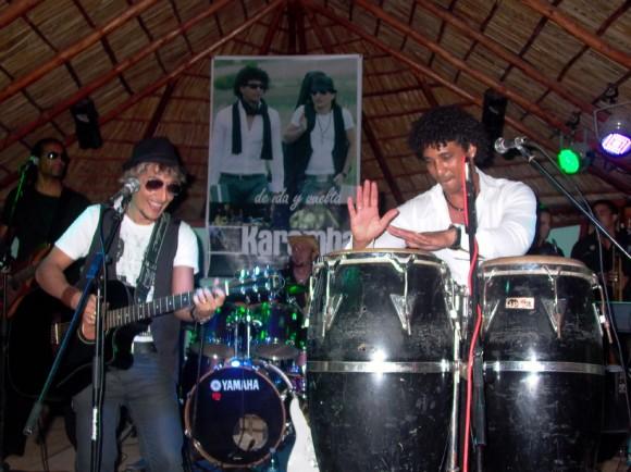 """Grupo Karamba en la presentación  """"de ida y vuelta"""""""