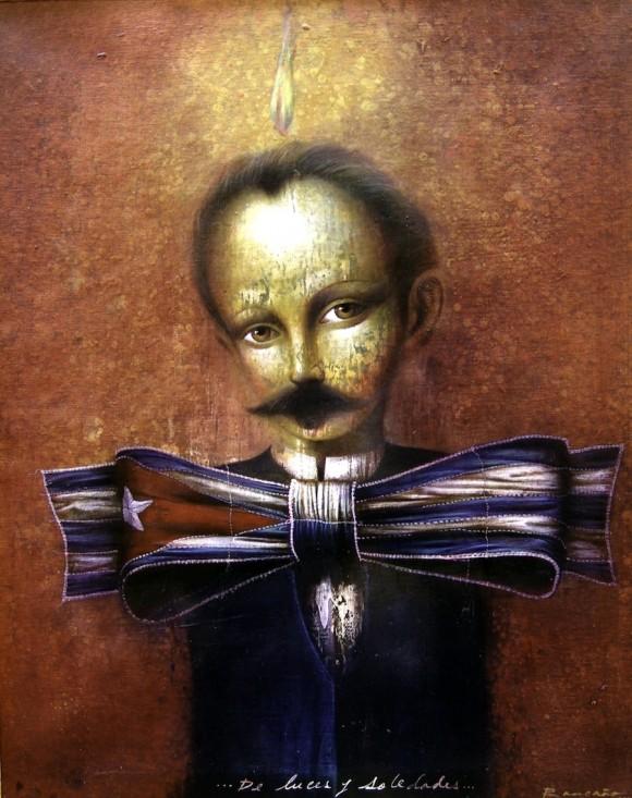 De sueños y de soledades. Acrílico sobre lienzo, 2003