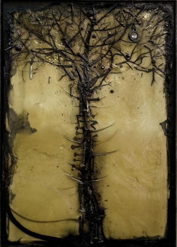 Al pie de papá. Recina y metal, 2005