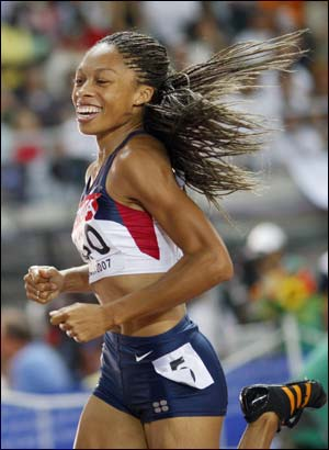 Allyson Felix la gran favorita a Atleta femenina del Año