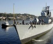 """El Buque de la Armada Inglesa """"Manchester"""", arribó al puerto de La Habana, Cuba, el 15 de noviembre de 2010.  AIN FOTO/Omara GARCIA MEDEROS"""