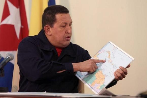 El Presidente Chávez en La Habana. Foto: Prensa Presidencial