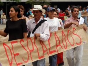 Colombianos desplazados