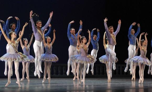 """""""Tema y variaciones"""" fue creado para el American Ballet Theatre, y tuvo su estreno mundial el 26 de noviembre de 1947."""
