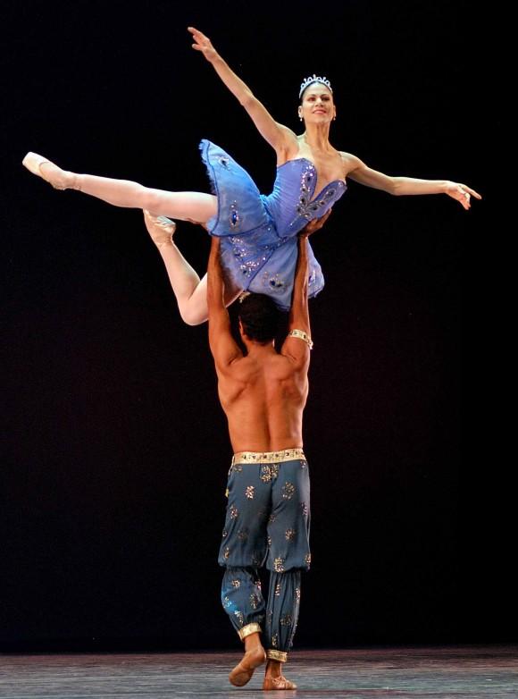 """""""El corsario"""".El American Ballet Theatre (ABT), compañía de Estados Unidos, invitada al XXII Festival Internacional de Ballet de la Habana, teatro Karl Marx. FOTO: Raúl Pupo."""