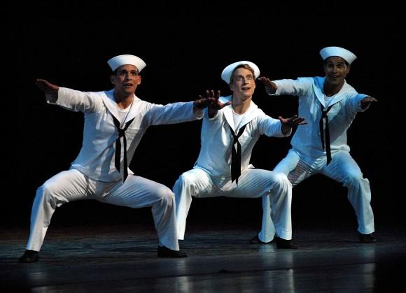 """""""Fancy Free"""", con Craig Salstein, Ethan Stiefel y José Manuel Carreño."""