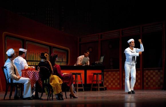 """""""Fancy Free"""". La coreografía es de Jerome Robbins y la música de Leonard Bernstein."""
