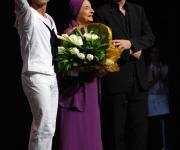 José Manuel Carreño, Alicia Alonso y Kevin McKenzie, director artístico del American Ballet Theatre.