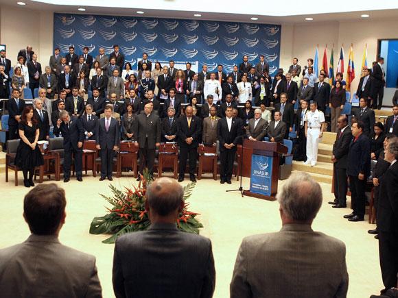 IV Cumbre Ordinaria de Jefes de Estado de la UNASUR, Guyana, Noviembre de 2010