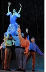 Presentación de «Preciosa y el aire», con coreografia de Alicia Alonso, sobre el poema homónimo de Federico García Lorca en el Gran Teatro de La Habana, el 7 de noviembre de 2010, durante la Gala de clausura del 22 Festival Internacional de Ballet. AIN  FOTO/Roberto MOREJON RODRIGUEZ