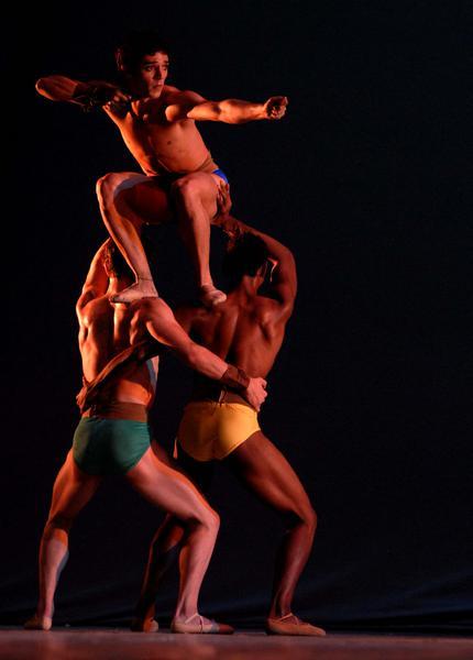resentación de «Canto vital» en el Gran Teatro de La Habana, el 7 de noviembre de 2010, durante la Gala de clausura del 22 Festival Internacional de Ballet..AIN  FOTO/Roberto MOREJON RODRIGUEZ