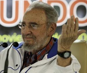 Fidel Castro. Foto: Roberto Chile