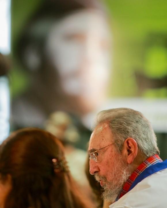 Fidel, el 17 de noviembre de 2010. Foto: Alex Castro