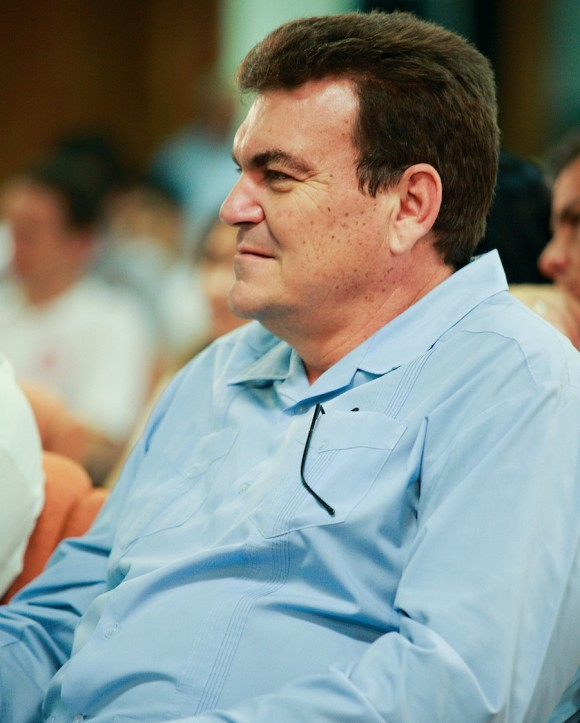 Gustavo Cobreiro, Rector de la Universidad de La Habana. Foto: Alex Castro
