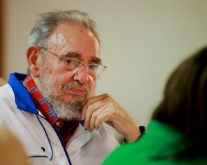 Fidel: Mensaje a los estudiantes. Foto: Alex Castro