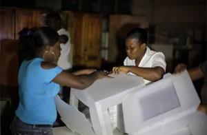 Abren colegios electorales en Haití. Foto: Reuters