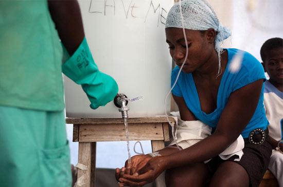 El cólera en Haití se ha cobrado
