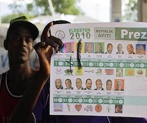 Candidato haitiano insiste en revisar las actas de votación