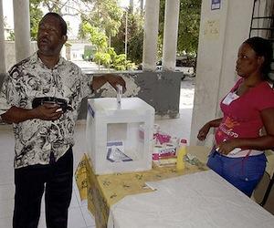 Se conocerán hoy en la noche los resultados de las elecciones en Haití