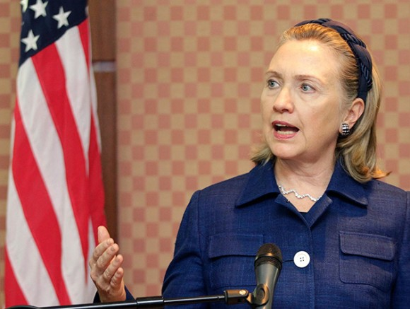 Hillary Clinton. Foto: AFP