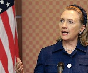 HillaryClinton, Secretaria de Estado. Foto de archivo