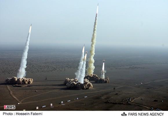 El sistema de misiles iraní Shahab.