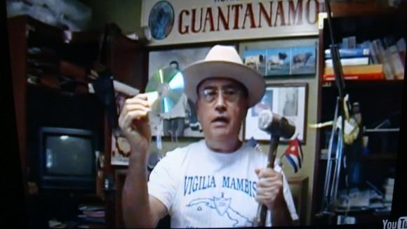 Manuel Prieres, uno de los miembros de Vigilia Mambisa.