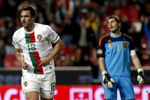 Hugo Almeida sentenció la goleada portuguesa