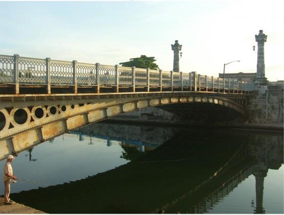 Puente de la Concordia, en la ciudad de Matanzas.
