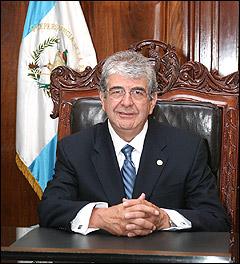El vicepresidente de Guatemala, el doctor Rafael Espada