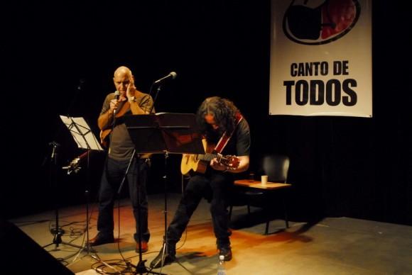 Vicente Feliú en la Casa del Alba. Foto: Iván Soca
