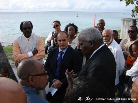 Lazo en Barbados
