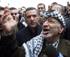 Yasser Arafat en mayo de 2007.