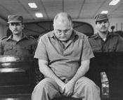 Otto René Rodríguez Llerena durante el juicio.