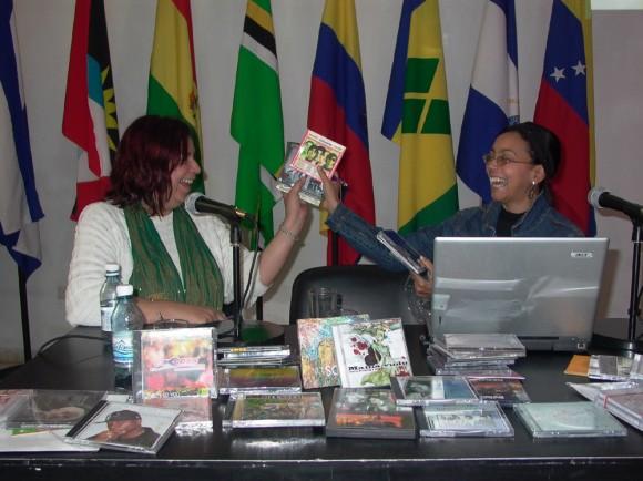 Adirana Orejuela y Cary Diez. Foto: Marianela Dufflar