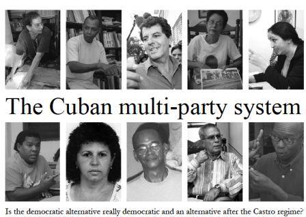 Portada de la Tesis de maestría de Anna Ardin donde aparecen miembros de organizaciones financiadas por EE.UU. en Cuba contactados por ella