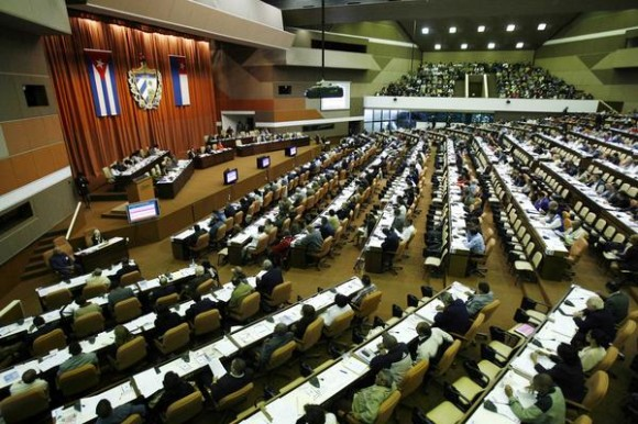 Comenzó sesión plenaria de la Asamblea Nacional del Poder Popular, en el Palacio de Convenciones, en La Habana, el 15 de diciembre de 2010.  AIN    FOTO POOL/Ismael Francisco GONZÁLEZ/PL/