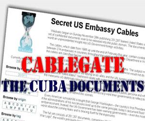 Publican nuevas traducciones de cables filtrados por Wikileaks relacionados con la Isla