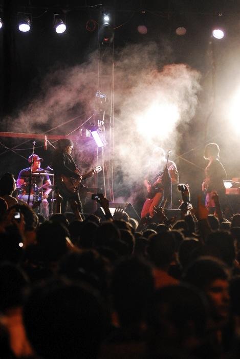 Carlos Varela en La Tropica. Foto: Iván Soca