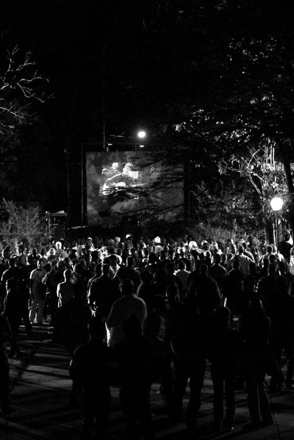 Concierto en la Habana en homenaje a Lennon. Foto: Iván Soca