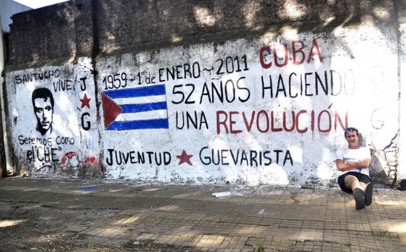 Cuba pintada. Foto: Kaloian