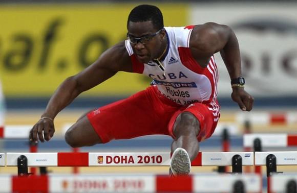 Dayron Robles, Campeón Mundial Bajo Techo en Doha, Qatar 2010