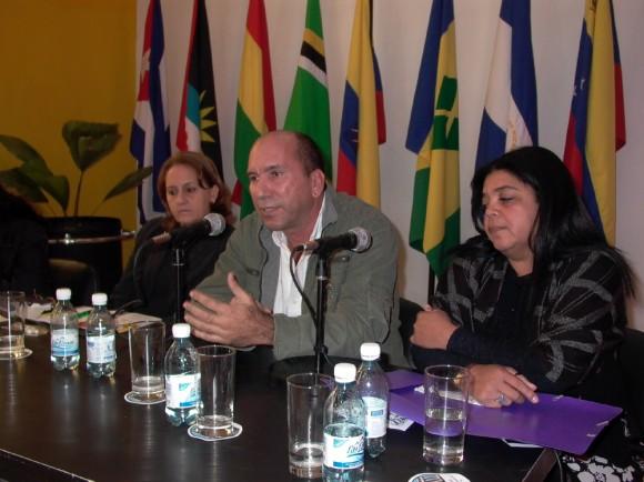 Encuentro de las disqueras cubanas. Foto: Marianela Dufflar