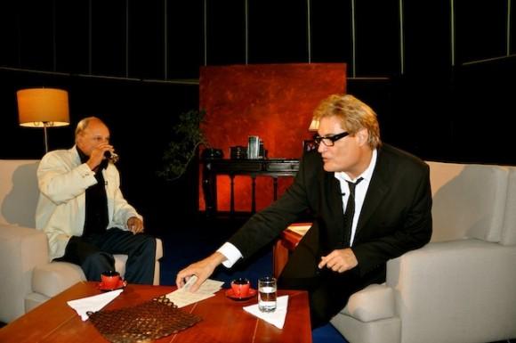 """Enrique Molina y Amaury Pérez en """"Con 2 que se quieran"""". Foto: Petí"""
