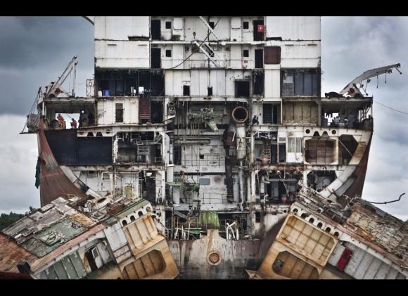 """""""Rompe-barcos de Chittagong""""-Jana Asenbrennerova"""